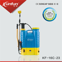 China factory supplier Hand Battery sprayer garden pressure power sprayerUK/USA 16l backpack sprayer