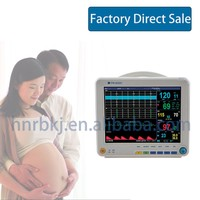 China Factory Direct Sale Portable Ultrasound Machine Color Doppler Maternal Fetal Monitor With Build-In Thermal Printer