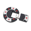 new product Poker chip usb pen drives, Poker chip usb flash drive, OEM customized shape 2D 3D pvc usb drive alibaba china
