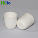 Huto Brand 99 High Purity Zirconia Porcelain Cup Shaped Alumina Magnesium Oxide Crucible