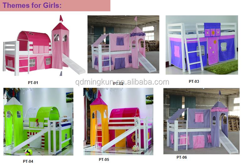 Cheap Bunk Beds Children Furniture Bunk Bed Colorful Child Bunk Bed