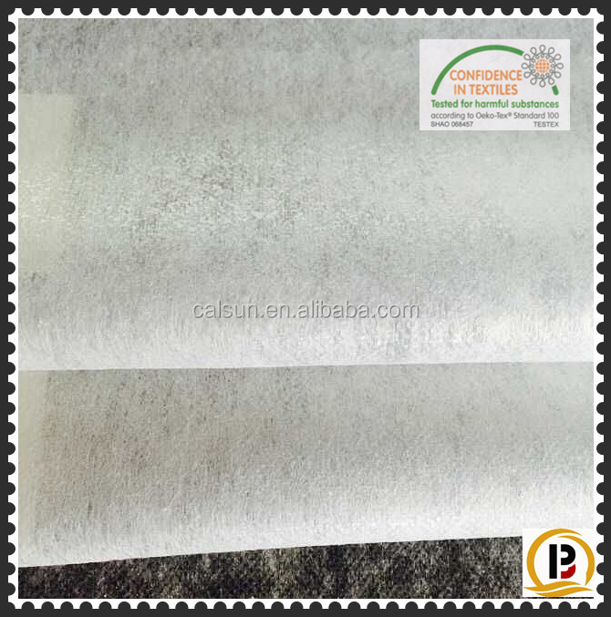 Scatte powder tearaway non woven fusing/non woven interlining fabric (#82240)