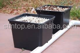120pcs-pack Hydroponics system of dutch bucket pot dripping irrigation for greenhouse