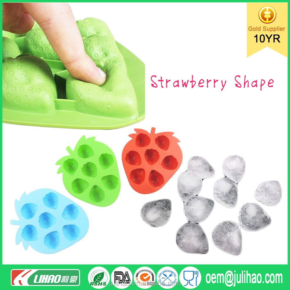 2015 Baby Food Freezer Tray Silicone Ice Cube Tray Silicon Ice Cube Mould