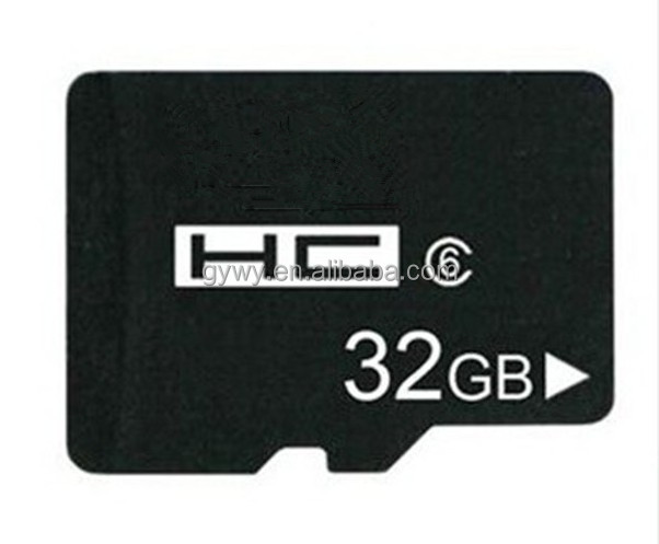 China manufacture micro 32GB cellphone SD card