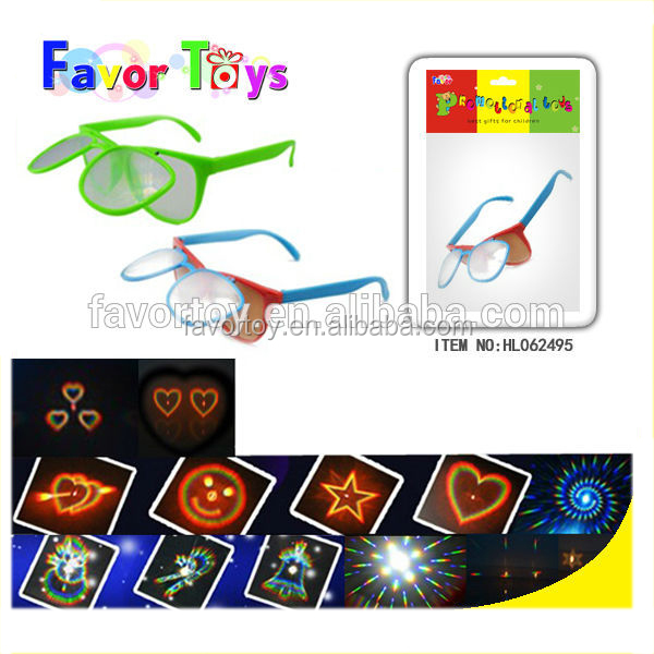 PC spectacle-frame toy firework glasses kid toy for sale
