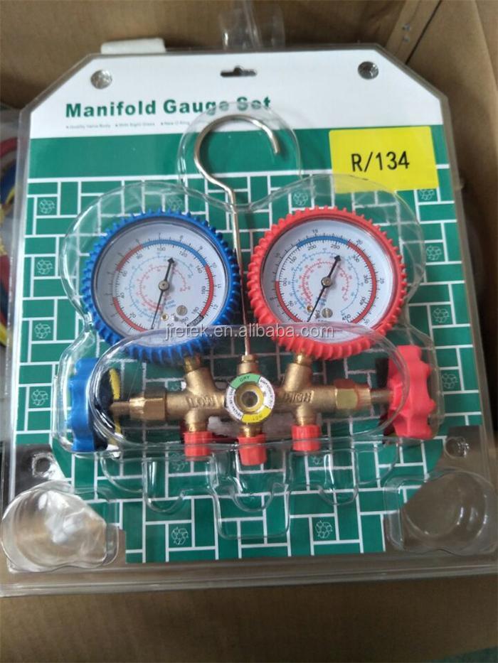 R410a Air Conditioning Refrigeration Manifold Gauge/refrigerator Repair  Tool - Buy Air Conditioning Pressure Gauge,R410a Manifold Gauge,Manifold  Gauge