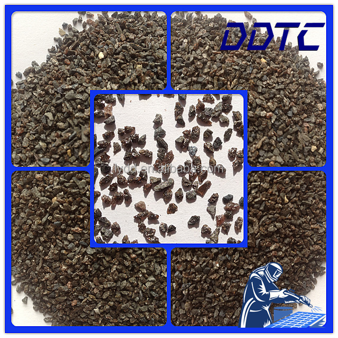 Non Skid Coating Brown Fused Alumina Abrasive Blasting Grain Brown Aluminum Oxide