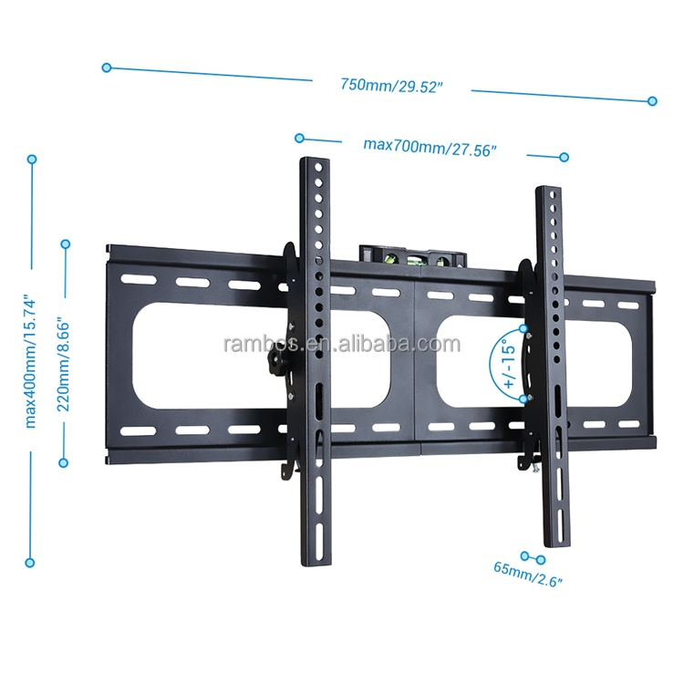 50 Inch LCD TV Wall Bracket TV Mount for most of 26-75 Inch Plasma Flat Screen TV Full Motion Swivel Articulating 400 x 400 VESA