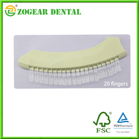 LB031 ZOGEAR dental shade guide , shade guide, Dental Tooth Shade Guide