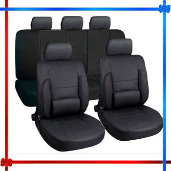 Black Racing Car Seat Cover