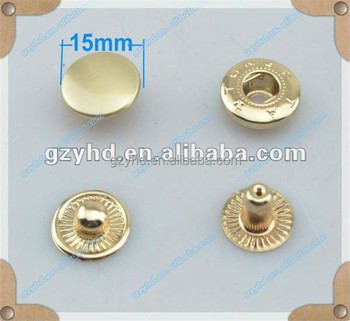 china supplier for eco-friendly gun color metal rivet