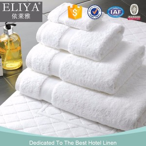 ISO9001 certified 100 cotton hotel guest room towels