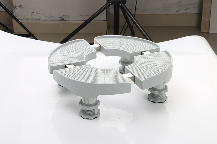 High quality adjustable roller air conditioner base