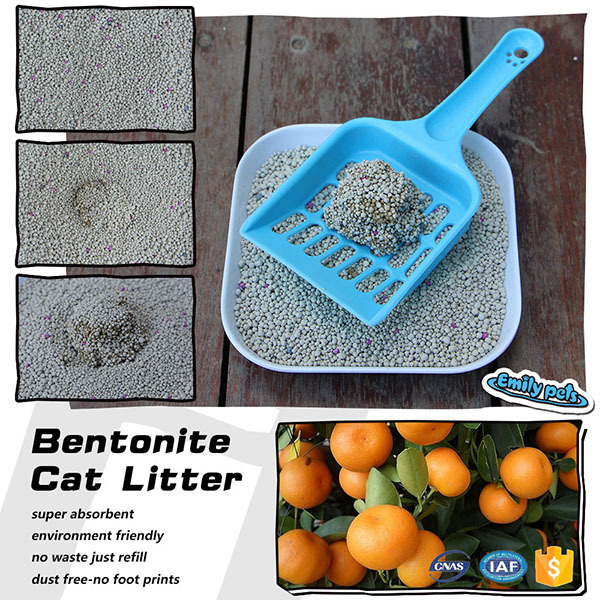 Classic economic use hygienic natual clay pet sand