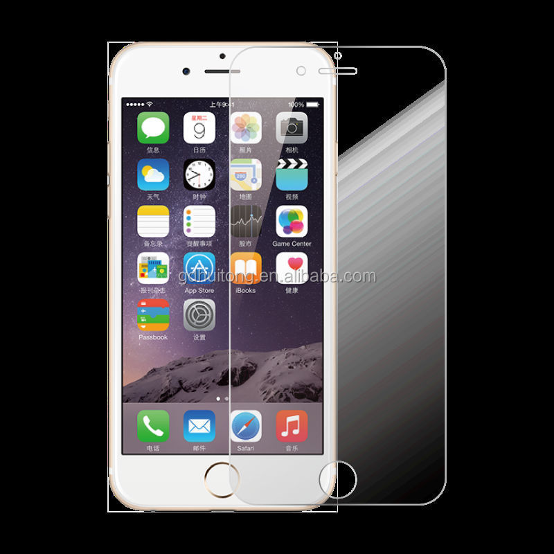 Factory Price !for Iphone 6 Tempered Glass Screen Protector