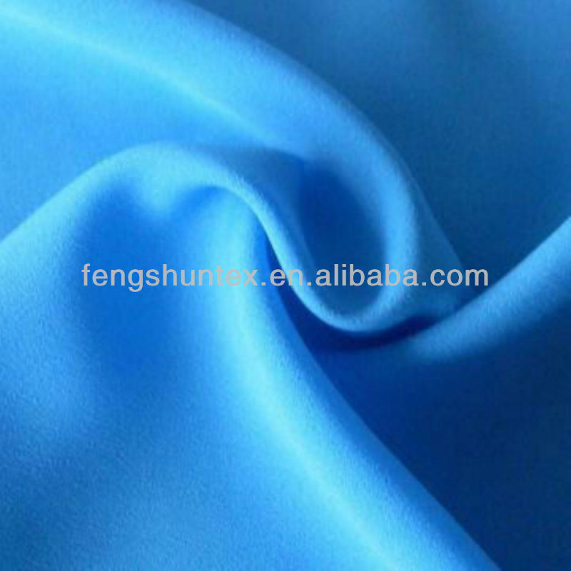 Poly Crepe Satin Fabric