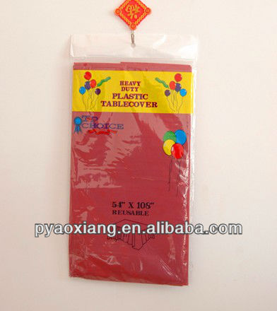 Disposable colorful Tablecloth or Tablecover