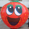 Customed strawberry air balloon/inflatable advertisement balloons