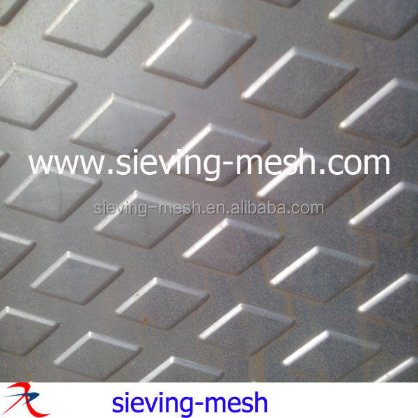 Hexagonal Hole Perforated Metal Plates / Perforated Metal Screens Stainless Steel
