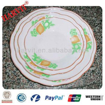 2014 New Design Personalized Porcelain Plates/Porcelain Souvenir Plate/Grape Decorative Plate & 2014 New Design Personalized Porcelain Plates/porcelain Souvenir ...