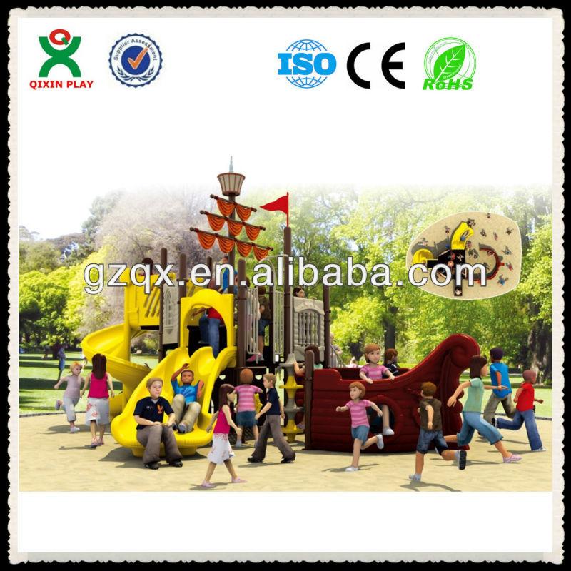Guangzhou Factory Cool Pirate Adventure Playground Equipment