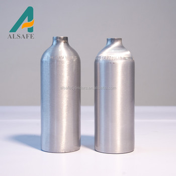 1L aluminium CO2 cilinder voor Soda Maker 700g CO2 Maken 130L soda water