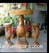 Chicken Coffee Table Set