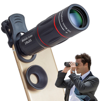Apexel 2020 Amazon trending mobile lens clip-on smart phone telephoto extra powerful HD 18x zoom lens