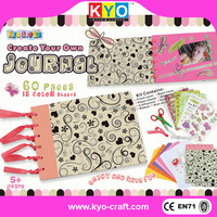 Beautiful colorful top scrapbooking page kits
