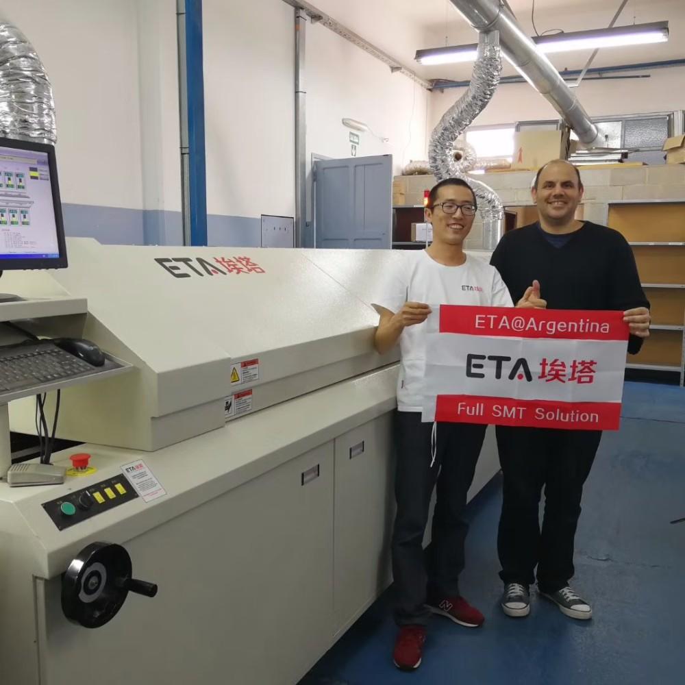 Smt Semi-auto Solder Paste Printing Machine 21