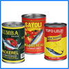 2016 new pack canned mackerel in tomato sauce/brine/oil