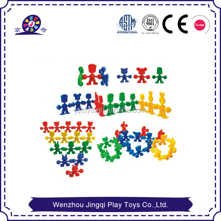 small body finger building Blocks Toys for kindergarten by JQ factory