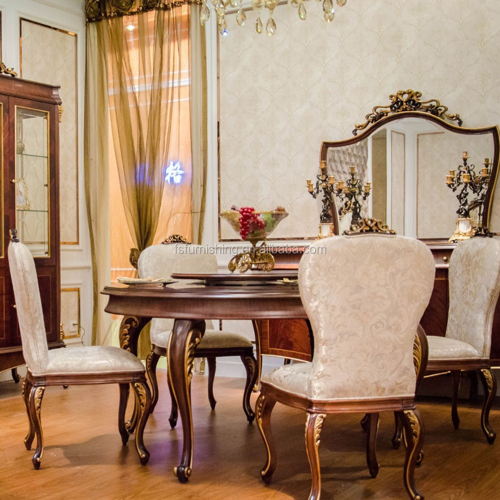 Yb70-2 Round Dining Room Sets Made In China,Italy Style Master Design  Dining Room Furniture Sets - Buy Classic Dining Room Sets,Royal Dining Room  ...