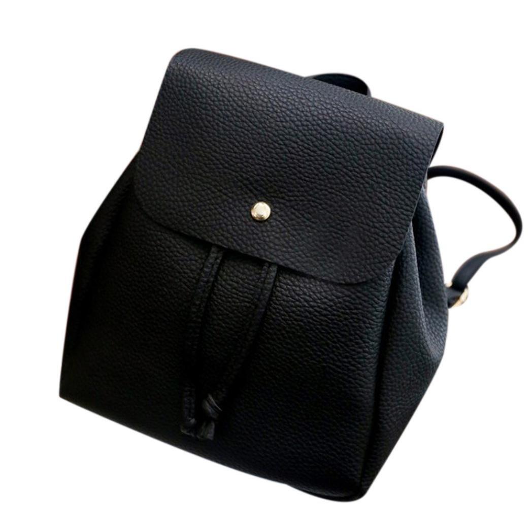 Clearance Deals Women Handbag Shoulder Bag, TOOPOOT Lady Drawstring Satchel Shoulder Backpack Soft Bags