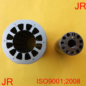 interlocked progressive stamping tool/mould/die for EC /brushless motor stator and rotor
