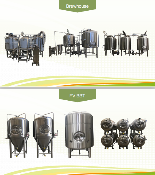 QIHUI---800l brewhouse and fermenter microbrewery equipment