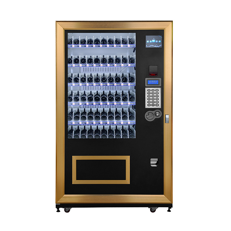 Coffee vending machine ,smart vending machine,self- service beverage snack vending machine with subway