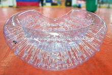 Outdoor giant Clear inflatable floating water bubble ball for adults