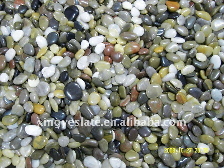 Colorful Pebbles Paving Stone