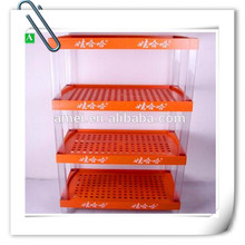 supermarket promotion plastic display customized plastic cover