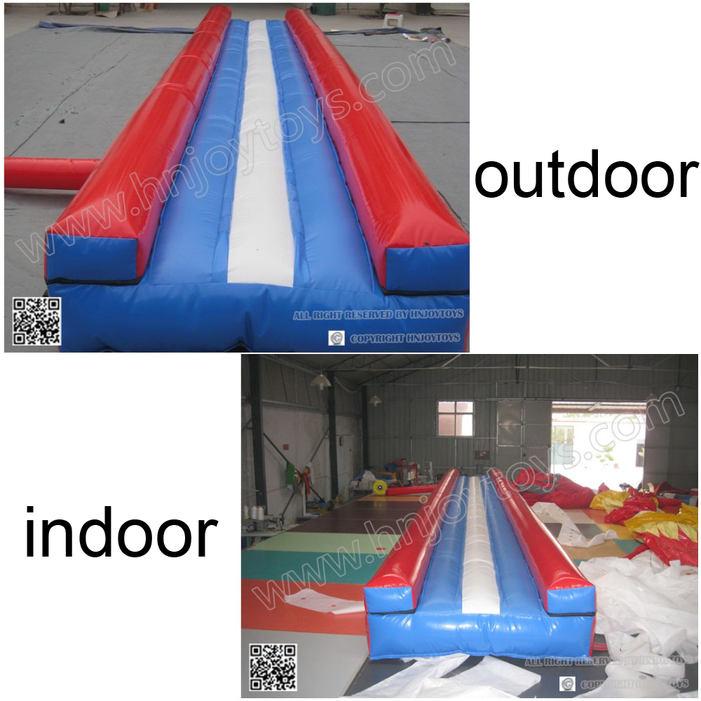 2019 durable gymnastics tumble mat custom color Outdoor or indoor inflatable air track for gym