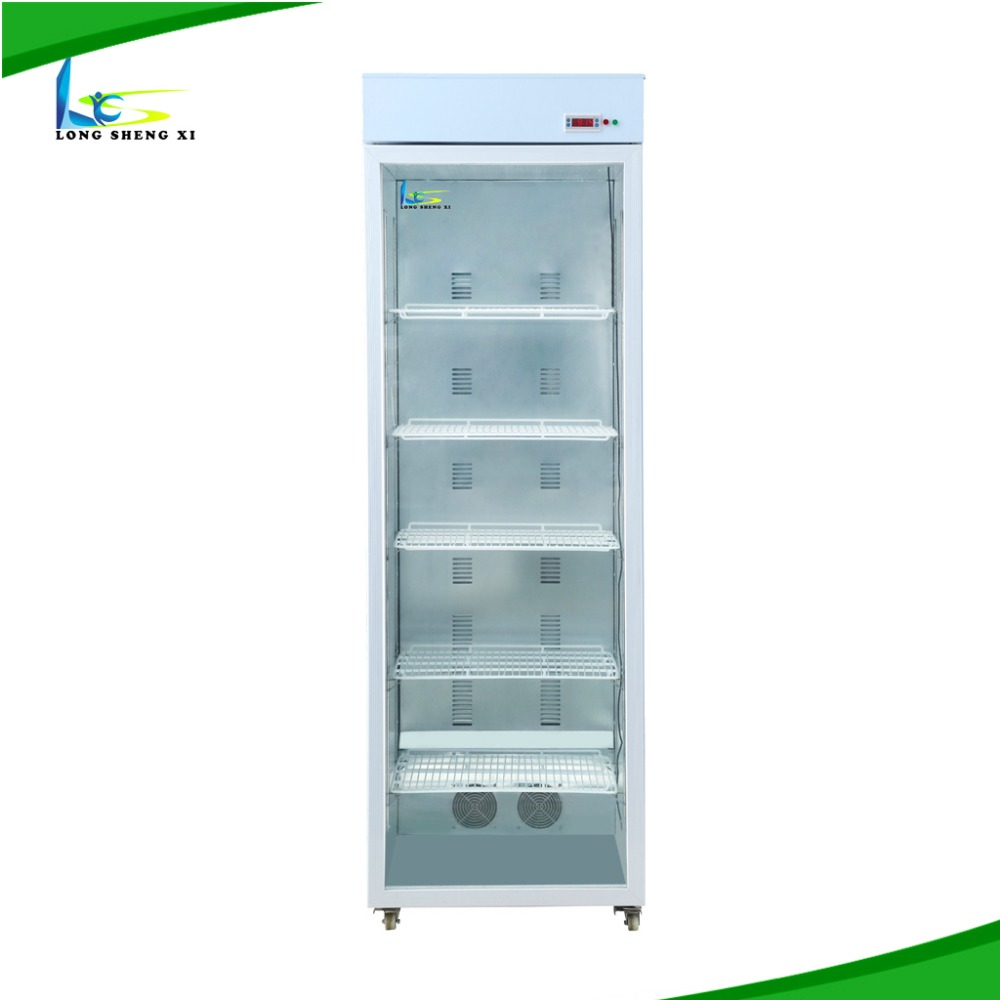 supermarket upright sliding door showcase used beverage cooler