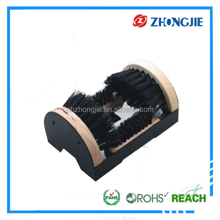 Directly Supply Durable Soft Bristle Natural Horse Hair Shoe Brush