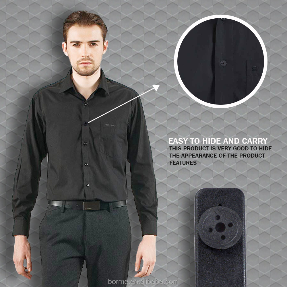 Sell online Black mini hidden shirt button dv recorder <strong>camera</strong> retail price
