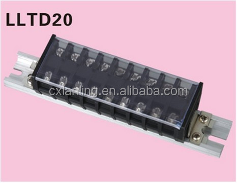 Hot Selling Connector WS Din Rail Terminal Block Pitch8.0MM connector LLTD15