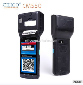 Ring Type 4G Portable Bluetooth Super-long Standby 1D 2D Barcode Scanner PDA for daily life