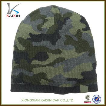 284862d5317f3 Men s Winter Baggy Forest Como Beanie Hat Warm Knit Fleece Lined Skull Ski  Cap