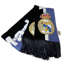 Custom Wholesale Best Material Knitted Football Fan Winter Scarf