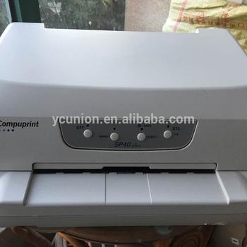 新しいcompuprint sp40プラス通帳プリンタで工場価格 buy sp40プラス